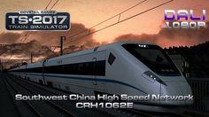 Train Simulator: South West China High Speed Route Add-On Southwest China High Speed Rail Network CRH1062E #TS2017 #trainsim #DovetailGames #YouTube #Steam #railworks