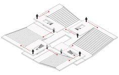 Building O - University of Antwerp Auditorium and Research Building Winning Proposal / META architectuurbureau,diagram 01