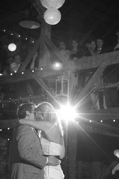 Bride and Groom at their beautiful rustic wedding | Turnquist Photography | rusticweddingchic.com