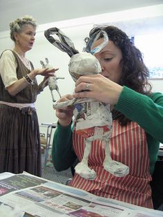 Day 1 of Julie Arkell Workshop, via Flickr.
