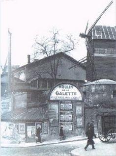 Moulin de la Galette, 1885