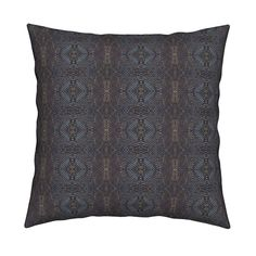 Catalan Throw Pillow featuring Wanderings by chinaberries_studio   Roostery Home Decor