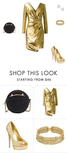 """Untitled #4736"" by explorer-14576312872 ❤ liked on Polyvore featuring Betsey Johnson, Yves Saint Laurent, Steve Madden and Chanel"