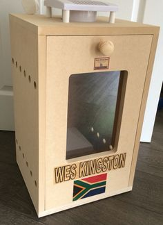 Another custom made billie box for one of my customers @ Botha Biltong Boxes.