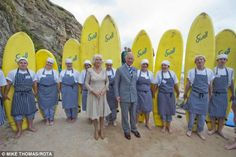 Everybody go surfing... except for Charles: the Prince said 'I'm past my sell-by date for ...