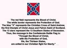 Confederate Battle Flag meaning.