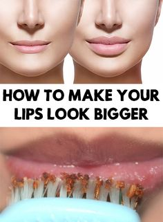 Recently it became a desire for many women to have big and sensual lips. Find out how to make your lips look bigger in a natural way.