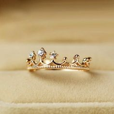 A promise ring for your daughter reminding her she is a Princess, the daughter of the Most High King..