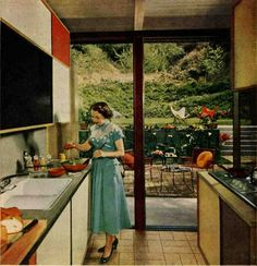 A Mondrian kitchen for Anne and Gary? - Retro Renovation
