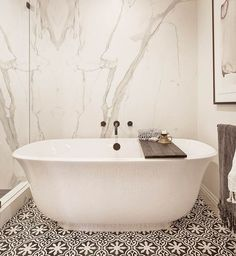 The Amiata Freestanding Bath from Victoria + Albert, room designed by KJM Interiors Steam Showers Bathroom, Bathroom Spa, Bathroom Sink Faucets, Bathroom Ideas, Family Bathroom, Bathroom Remodeling, Bathroom Storage, Bathroom Interior, Small Bathroom