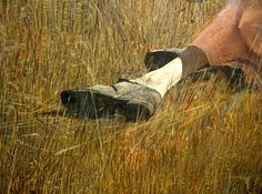 Andrew Wyeth 'Christina's World' (detail) 1948 by Plum leaves, via Flickr