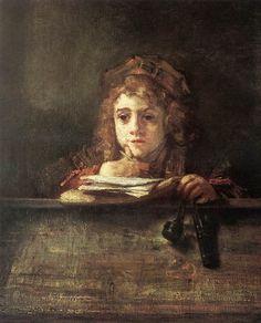 Rembrandt (1606-1669) - Titus.JPG ▓█▓▒░▒▓█▓▒░▒▓█▓▒░▒▓█▓ Gᴀʙʏ﹣Fᴇ́ᴇʀɪᴇ ﹕ Bɪᴊᴏᴜx ᴀ̀ ᴛʜᴇ̀ᴍᴇs ☞  http://www.alittlemarket.com/boutique/gaby_feerie-132444.html ▓█▓▒░▒▓█▓▒░▒▓█▓▒░▒▓█▓