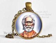 SRI YUKTESWAR Pendant Paramahansa Yogananda by TheMeditationShop