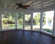 Tongue And Groove Screen Porch Ceiling By Archadeck Of