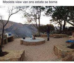 Bush boma Outdoor Living, Outdoor Decor, Farmhouse Ideas, Safari, Workshop, Patio, River, Chic, Home
