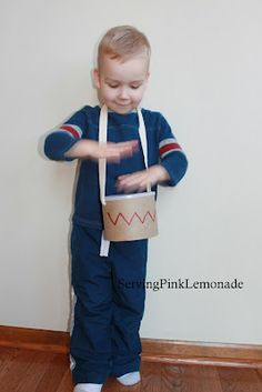 diy drum! cute present for my baby brother! :)