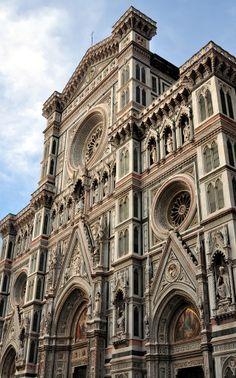 The Basilica di Santa Maria del Fiore, Florence, Italy.