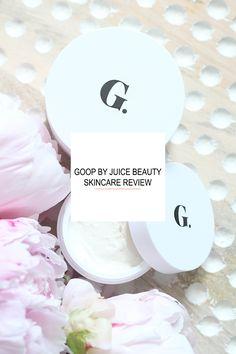 Goop by Juice Beauty Skincare Review. Organic, luxury skincare. Gwyneth Paltrow Goop.