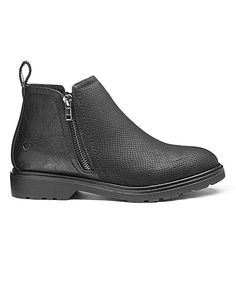 Chunky casual ankle boots great with skinny ankle jeans or dresses. My 'over 50's' style.