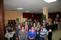 La Crónica del Alto Guadalquivir: Entrañable encuentro prenavideño de mayores en Vil...
