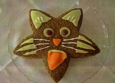 Silvia's Tortenträume: Sprudelkuchen als freche Mietze Katze Funfood Kuchen