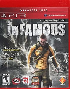 inFAMOUS  Playstation 3 * Want additional info? Click on the image. Note:It is Affiliate Link to Amazon.
