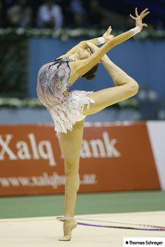 Evgenia Kanaeva. rhythmic gymnastics.