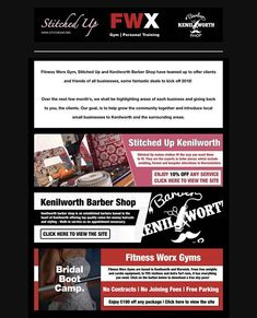 We've joined forces with Fitness Worx Gym & Kenilworth Barber Shop, check out some of the offers our customers can enjoy 💕