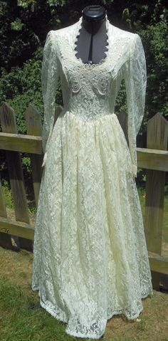 Gunne Sax Jessica McClintock Dress Romantic by OnceNewVintage, $39.99