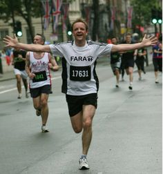 Why not raise some money for FARA by becoming one of a growing band of FARA Heroes like Christopher Scott, who is running the Virgin London Marathon 2014 to support us.
