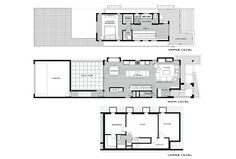project Street House plan Contemporary Three Level Home Showcasing Creative Design Features in Denver