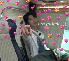 Ideas For Memes Bts Caras Corazones Namjoon, Taehyung, Love You Meme, Cute Love Memes, I Love You, My Love, Flipagram Video, Bts Emoji, Fanfiction
