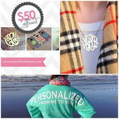 FREE MONOGRAMS!! giveaway ends 1/9/14