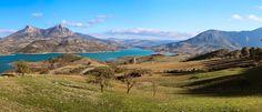 Zahara-El Gastor Reservoir Spain [OC] [2111911] #reddit