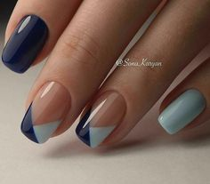 51 FRESH SUMMER NAIL DESIGNS FÜR 2019 – Dream Hair & Nails – … – Nageldesign, You can collect images you discovered organize them, add your own ideas to your collections and share with other people. Simple Nail Art Designs, Fall Nail Designs, Beautiful Nail Designs, Pedicure Designs, Simple Nail Arts, Nails Design Autumn, Navy Blue Nail Designs, Bright Nail Designs, Nail Tip Designs