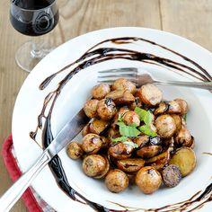 Balsamico Cherry Potatoes