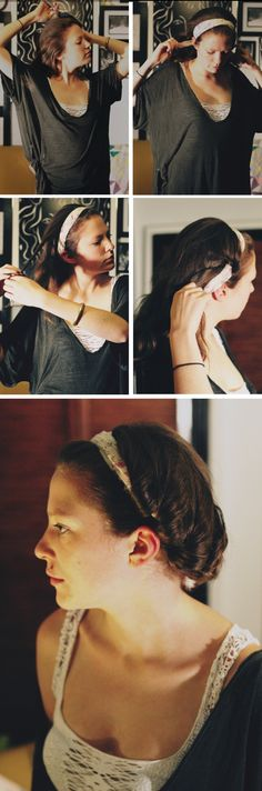 scarf hair styles- 3 styles and how to do them Mom Hairstyles, Creative Hairstyles, Scarf Hairstyles, Pretty Hairstyles, Easy Updos For Long Hair, Head Scarf Tying, Hair Affair, Hair Designs, Gorgeous Hair