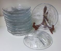 Vintage KIG Indonesia Clear Divided Relish Dish (#2047) by CherishedAgain on Etsy