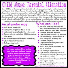 Parental Alienation is more common than you think.  Family Law reform is an absolute must in this country.  Dee Dee Whisler