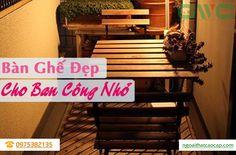 Đừng nghĩ rằng ban công nhỏ thì sẽ chẳng thể làm nơi nghỉ ngơi, thư giãn được! Chúng tôi sẽ gợi ý cho các bạn những bộ bàn ghế có thể đặt ở ngoài ban công dù nhỏ chỉ 2 - 3m2. #banghebancong #ikea #tanotable #tableset