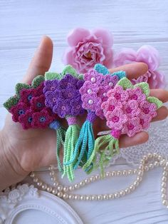 Crochet bouquet PATTERN. Crochet flowers PATTERN | Etsy