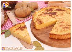 Torta di Patate Emiliana, ricetta per una torta salata a base di patate tipica dell'Emilia-Romagna, veloce da preparare e gustosissima sia c...
