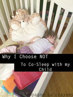 choosing not to co-sleep