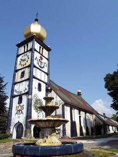 Hundertwasserkirche Bärnbach, © TV Lipizzanerheimat