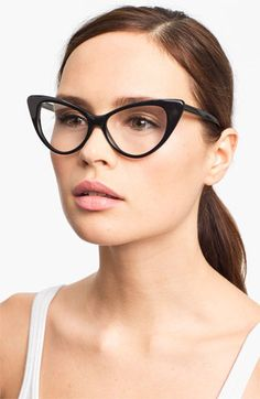 Tom Ford Cat's Eye 55mm Optical Glasses (Online Only) available at #Nordstrom