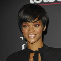 Androgynous crop  - Rihanna hairstyles from ghd
