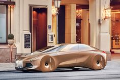 """BMW's future tagline may need to change to """"Ultimate Driven Machine"""" when the whole fleet is autonomous like this BMW Vision Next 100 concept"""