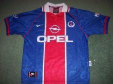 1996 1997 PSG Paris Saint Germain Adults Medium Football Shirt Maillot  France Club Soccer 7aba19bca
