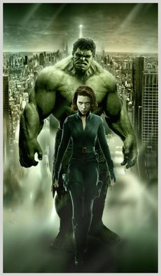 35801741d88c I made two posters actually n this is the one but I just want to make Hulk  n Black Widow together.pin-up. Hulk Widow Pin up