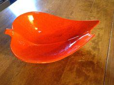 Mid-Century Leaf Shaped Bowl. California Pottery.